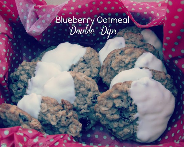 Blueberry Oatmeal Double Dips