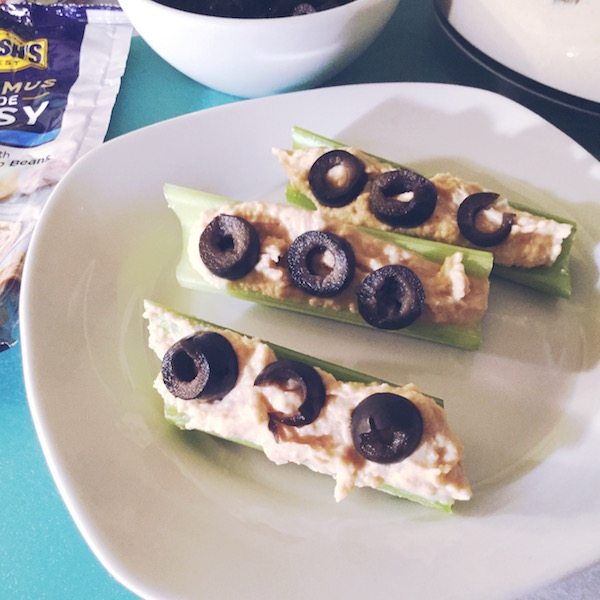 Snacking made easy with #HummusMadeEasy