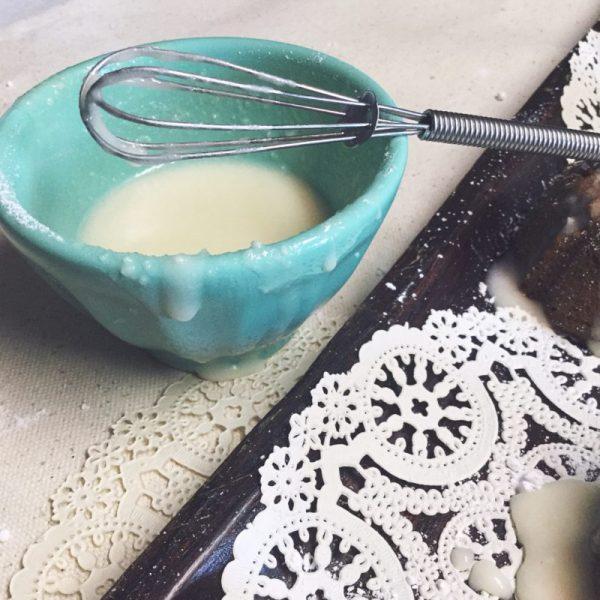 Vanilla Glaze Recipe via Desperately Seeking Gina