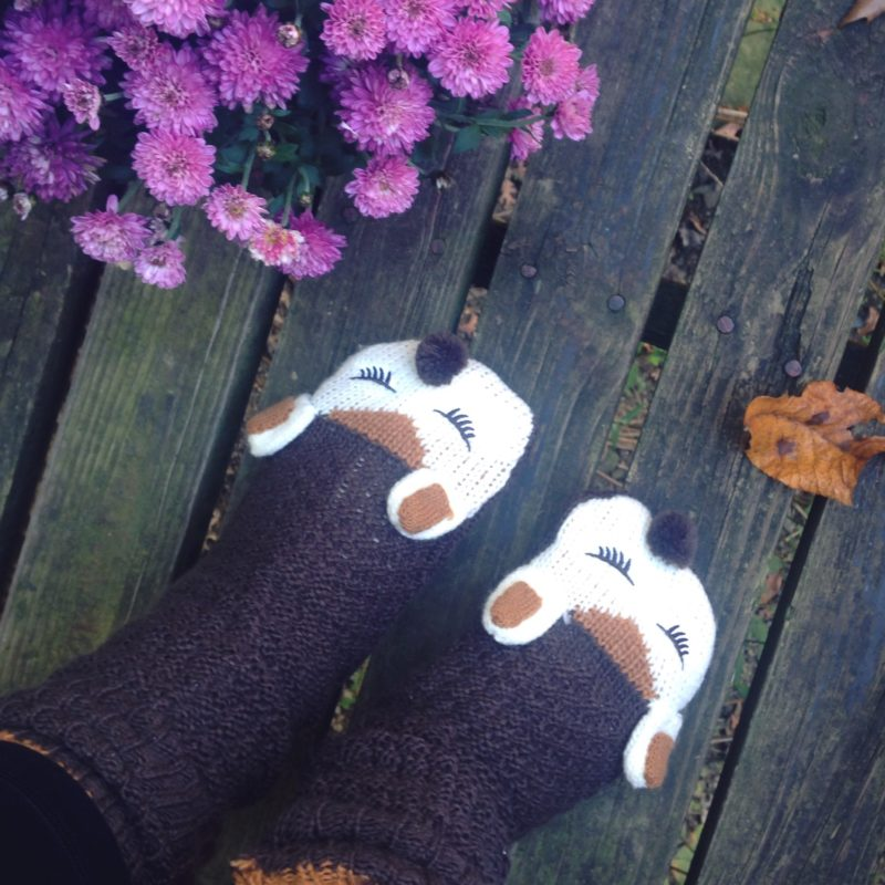 Fall Faves | critter slippers