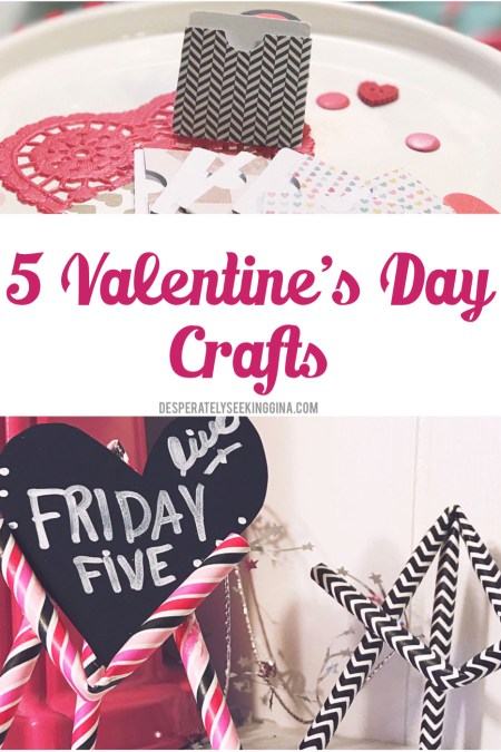 5 Valentine's Day Crafts | Friday Five Live