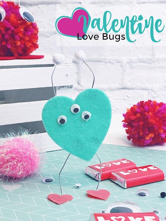 Easy Valentine Love Bugs
