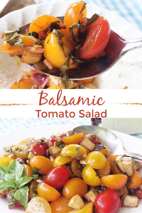 Balsamic Tomato Salad