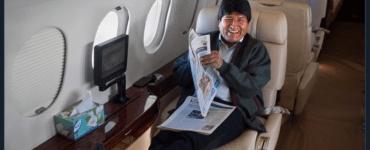 Evo Morales Jet Privado