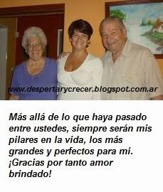 A mis queridos padres: ¡Gracias por la Vida!