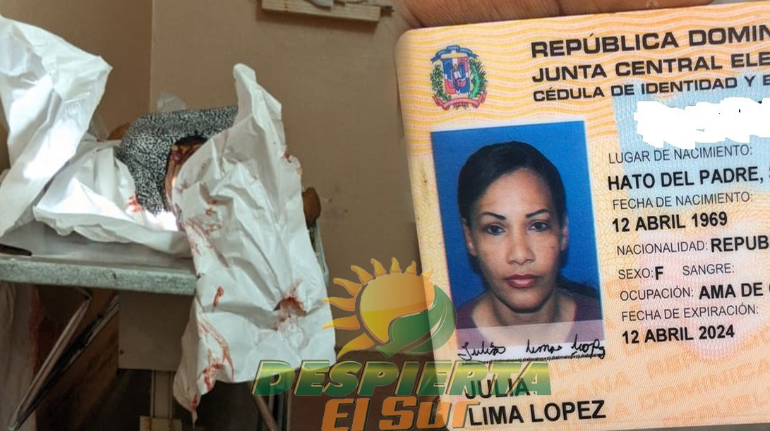 JULIANA LIMA LOPEZ---- ULTIMADA EN SAN JUAN DE LA MAGUANA