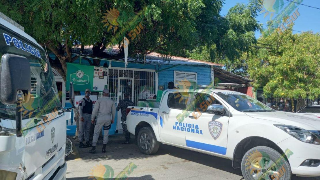 Policía Nacional en San Juan