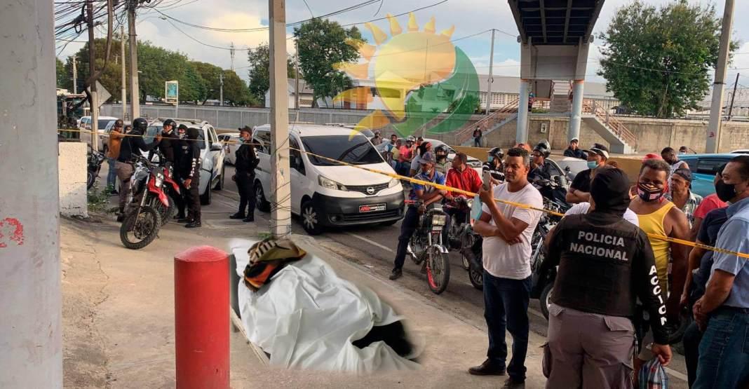 Delincuentes matan comerciante a pocos metros de cuartel en Santiago y logran escapar
