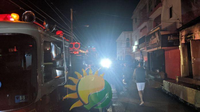 Incendio Consume vivienda en San Juan de la Maguana