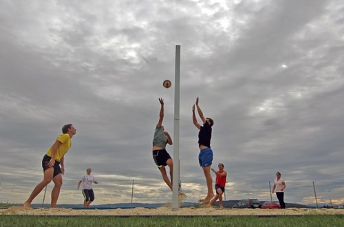 Voleibol en pareja – Despierta y Entrena