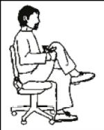 estiramiento espalda silla despierta y entrena