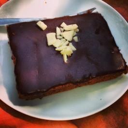 Brownie, un favorito de Clementina. Foto sacada por @paulabravoe