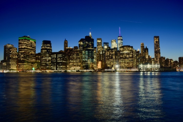 NYC : skyline de Manhattan