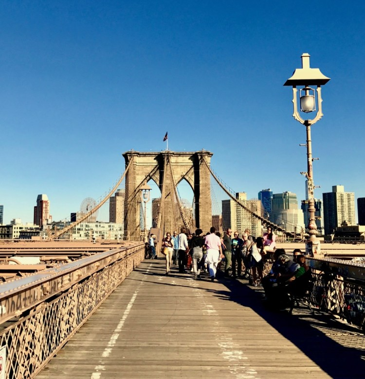 NYC : Pont de Brooklyn