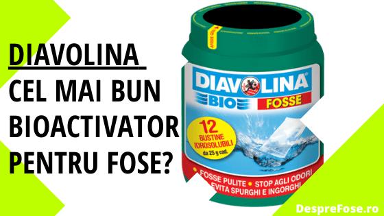 Diavolina Cel mai bun bioactivator pentru fose septice ecologice DespreFose.ro