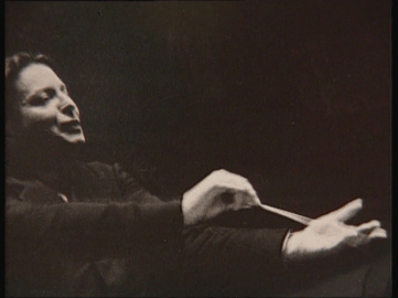 George Enescu conducting 1