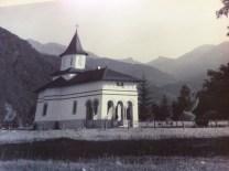 manastirea in trecut