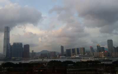 Hong Kong visiter la ville d'en haut et la ville d'en bas
