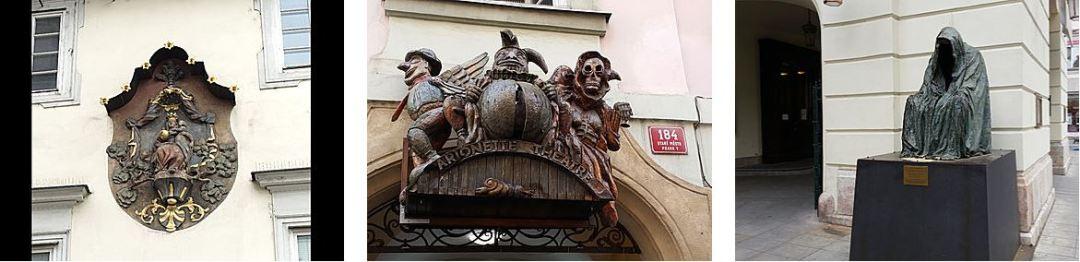 Prague Stare Mesto détails architecturaux