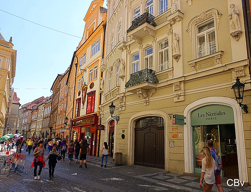 Prague Stare Mesto Rue Celetna