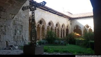 Intérieur du cloitre collegiale saint pierre La Romieu