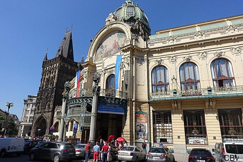 Prague Stare Mesto Salle Smetana