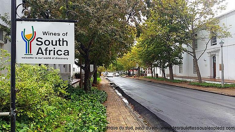 Infos pratiques Afrique du sud route des vins