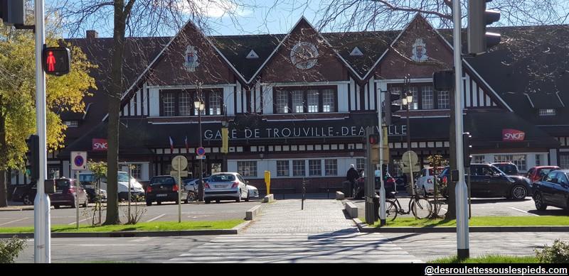 Deauville Trouville la gare