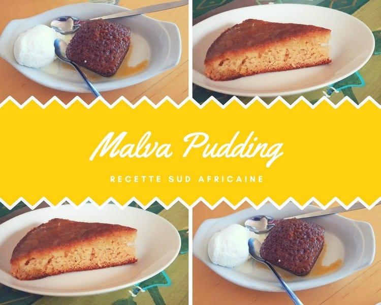 Malva Pudding Le Gateau Gourmand Traditionnel Sud Africain