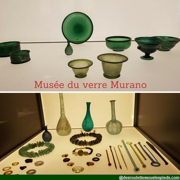 île de murano musée du verre pièces anciennes
