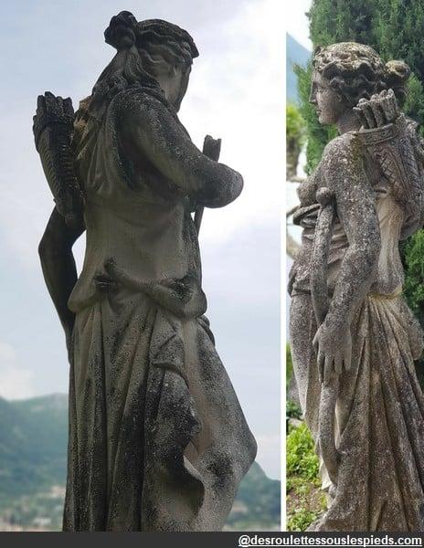 Lac de côme statues balbianello