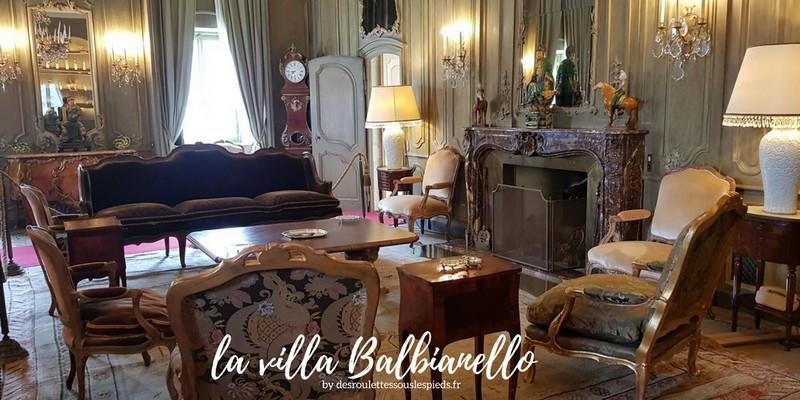 Lac de côme villa balbiannello intérieur
