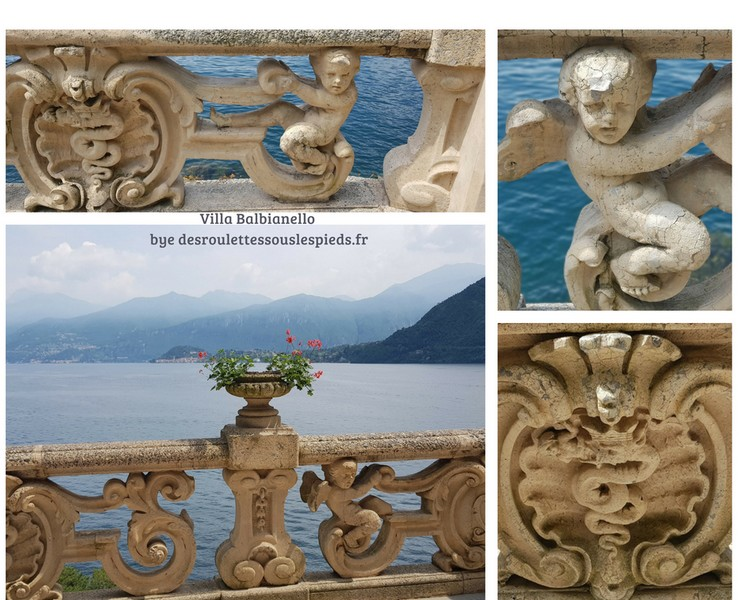 Lac de come balbianello embleme visconti milan