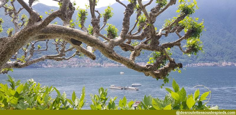 villa del balbianello vue rive lac de côme