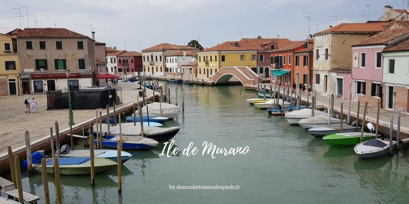 Ile de Murano , un bon choix pour un séjour tranquille à Venise