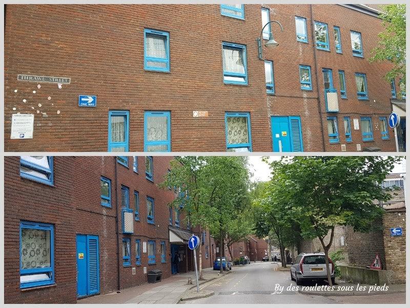 Sur les traces de jack l'éventreur habitation Catherine Eddowes