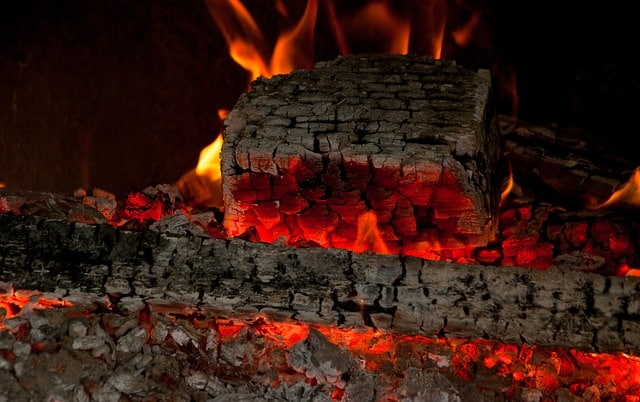 noel en provence le feu du reveillon