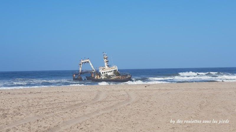 la côte des squelettes en namibie Zeila Shipwreck