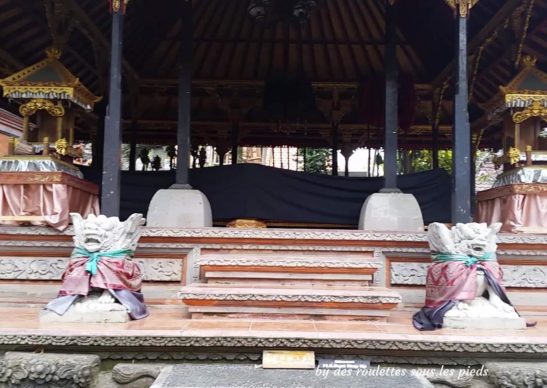 visiter bali ubud et le nord ubud palace détail