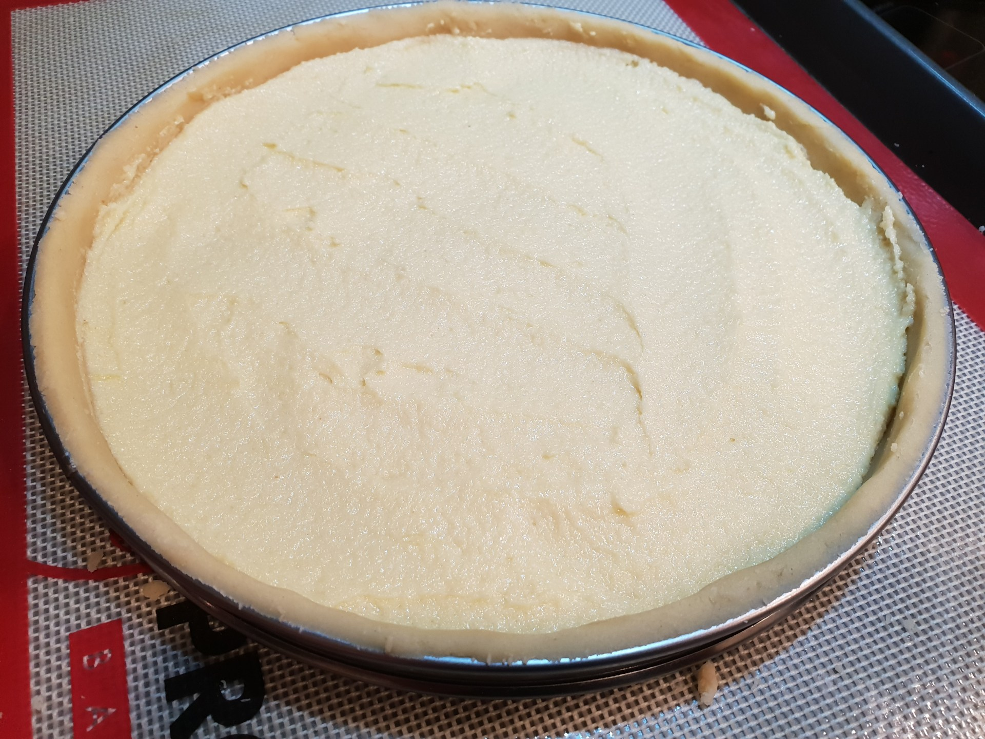 Recipe Recette pastry tarte raspberry framboises almond cream