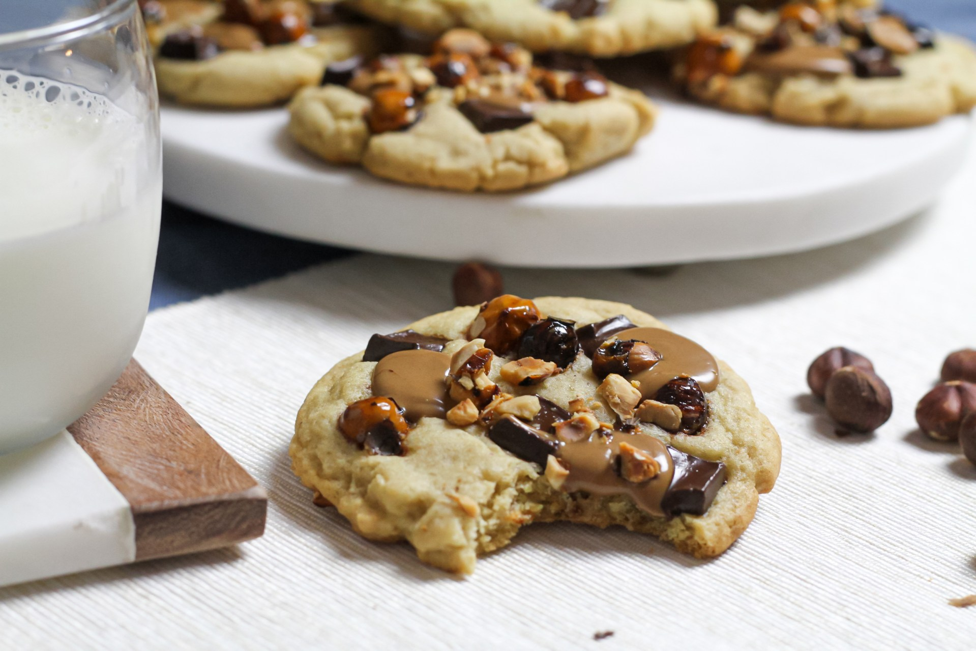 cookies hazelnuts