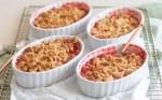 crumble rhubarb