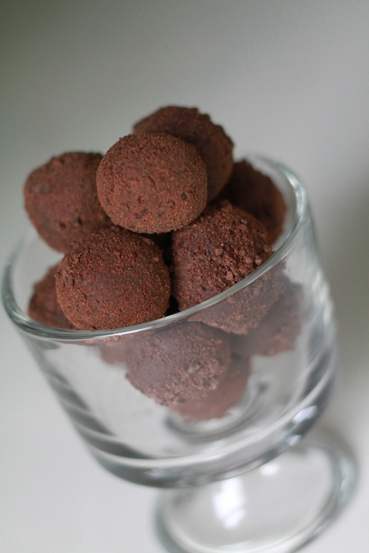 Homemade Truffles Recipe Dishmaps