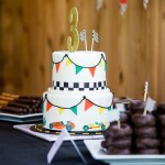 Vintage Race Car 3rd Birthday Party Dessertedplanet Com