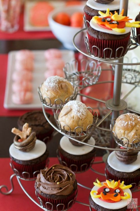 A Red Egg And Ginger Dessert Party Dessert First