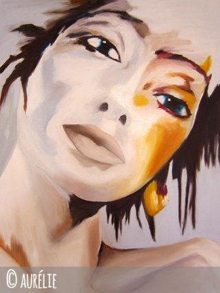aurelie peinture à l'huile