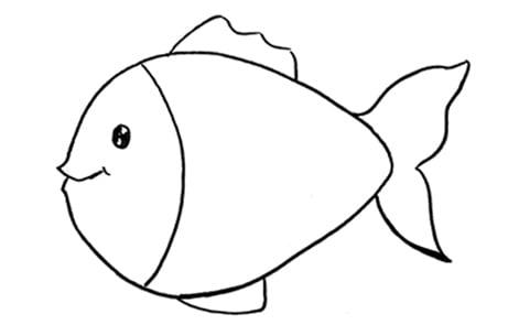Dessiner un poisson: étape 3: les nageoires et la queue