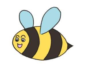 colorier la première abeille