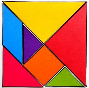 image tangram couleur