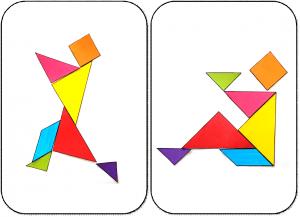 29 bonhommes en Tangram maternelle ps tangram bonhomme